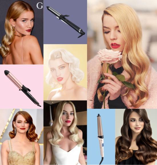 El rizador perfecto para ondas de cabello clásicas estilo Hollywood