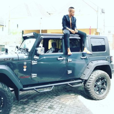 Tekno-got-himself-new-whip