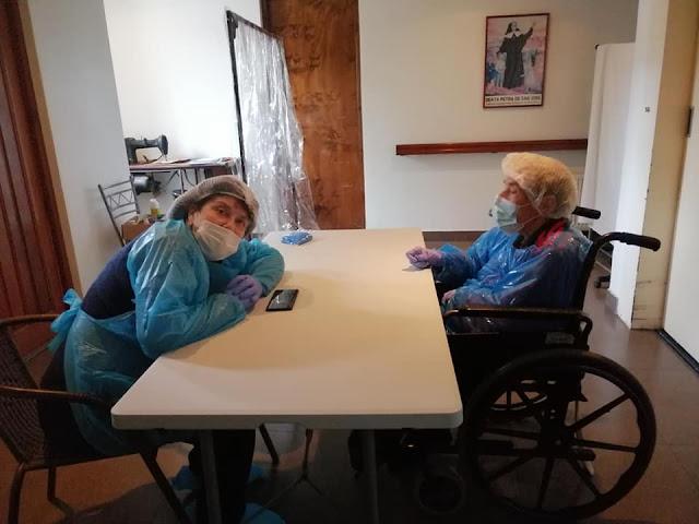 Visitas de familiares en pandemia