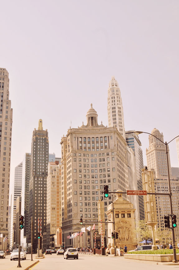 2 days in Chicago itinerary: Michigan Avenue aka the Magnificent Mile