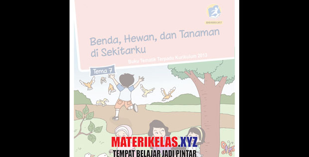 Materi Kelas 1 Tema 7 Kurikulum 2013 Revisi 2017