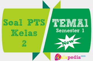 Latihan Ulangan PTS Tematik Tema 1 Subtema 1 Kelas 2 SD Semester 1