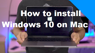 How to install Windows 10 on Mac, it turns out to be very easy