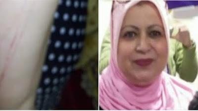 بالصور| سحل مديرة مدرسة داخل مكتبها.. ورسالة غاضبة لوزير التربية والتعليم