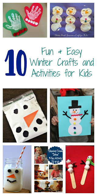 10 Winter Crafts & Activities for Kids || The Chirping Moms