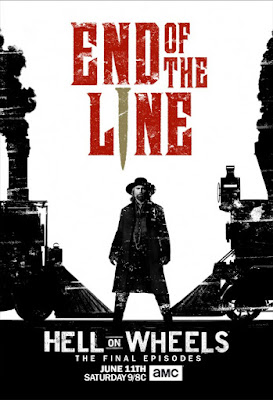 The last seven episodes of hell on wheels is the end of the line for