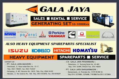 Lowongan Kerja Pekanbaru : Perusahaan Gala Jaya Mei 2017