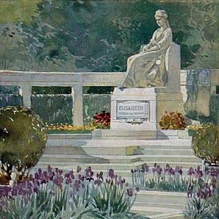 Das 'Sisi'-Denkmal vor hundert Jahren