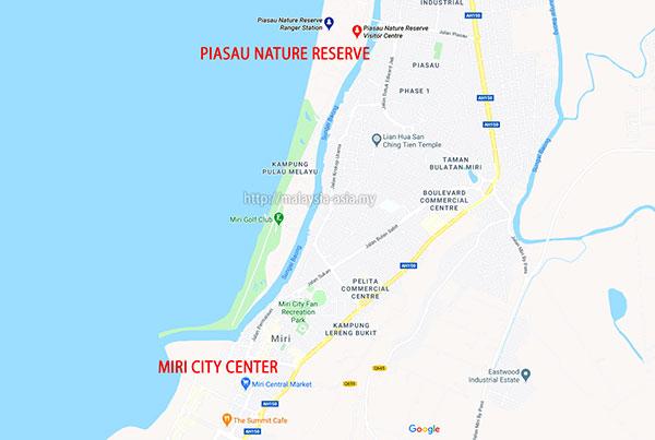 Piasau Nature Reserve Directions