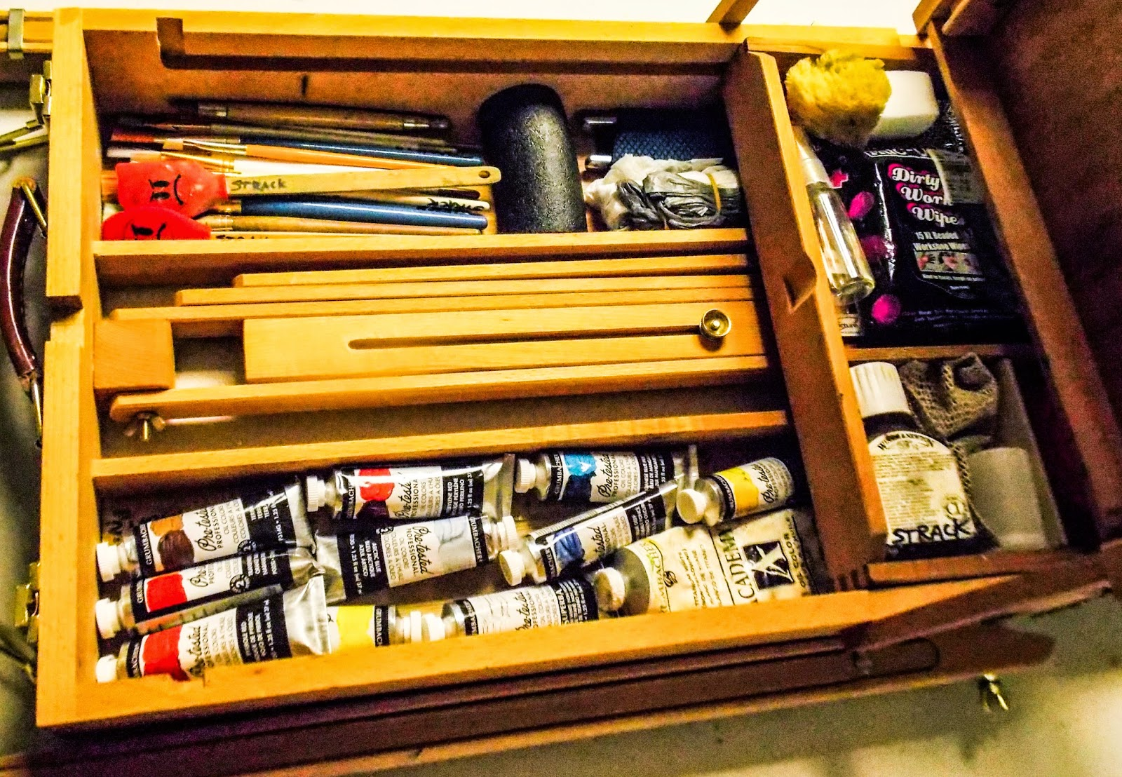 annie strack news tips for packing plein air painting gear
