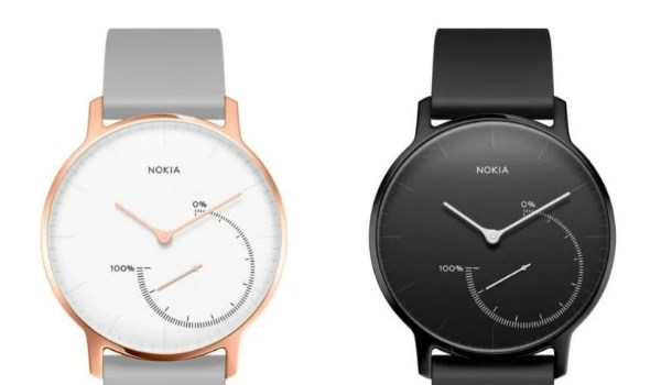 Smartwach Nokia Steel Hadirkan Dua Varian Warna Baru