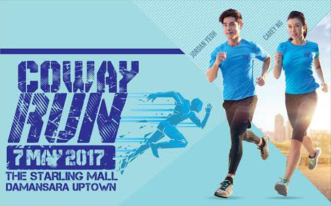 Coway Run 2017 - Inspirasikan Gaya Hidup Sihat Tulen