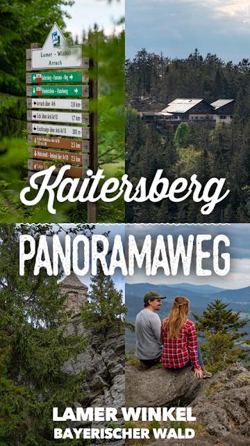 Kaitersberg Panoramaweg Ar06  Wandern im Lamer Winkel im Bayerischen Wald 33