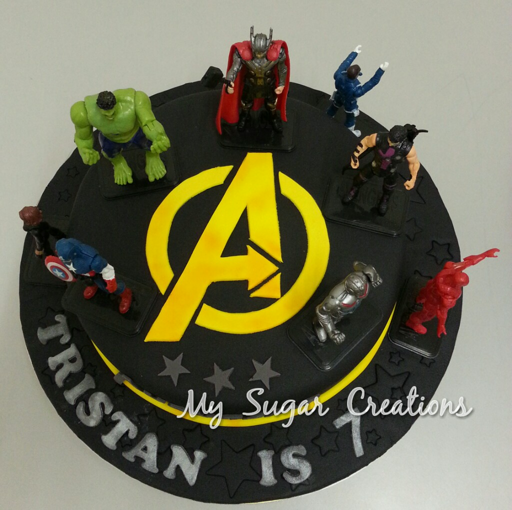My Sugar Creations 001943746 M The Avengers Cake