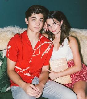 Jules LeBlanc with her ex-boyfriend Asher Angel