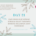 DAY 21: Dari Bikin Kue Kering hingga Solat Tarawih Bareng Keluarga Saat Ramadan #BPNRamadan2021