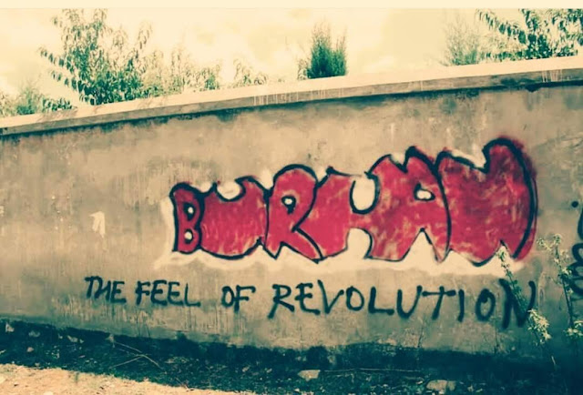 Burhan, The feel of revolution