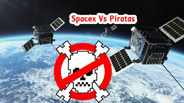 spacex versus pirataria
