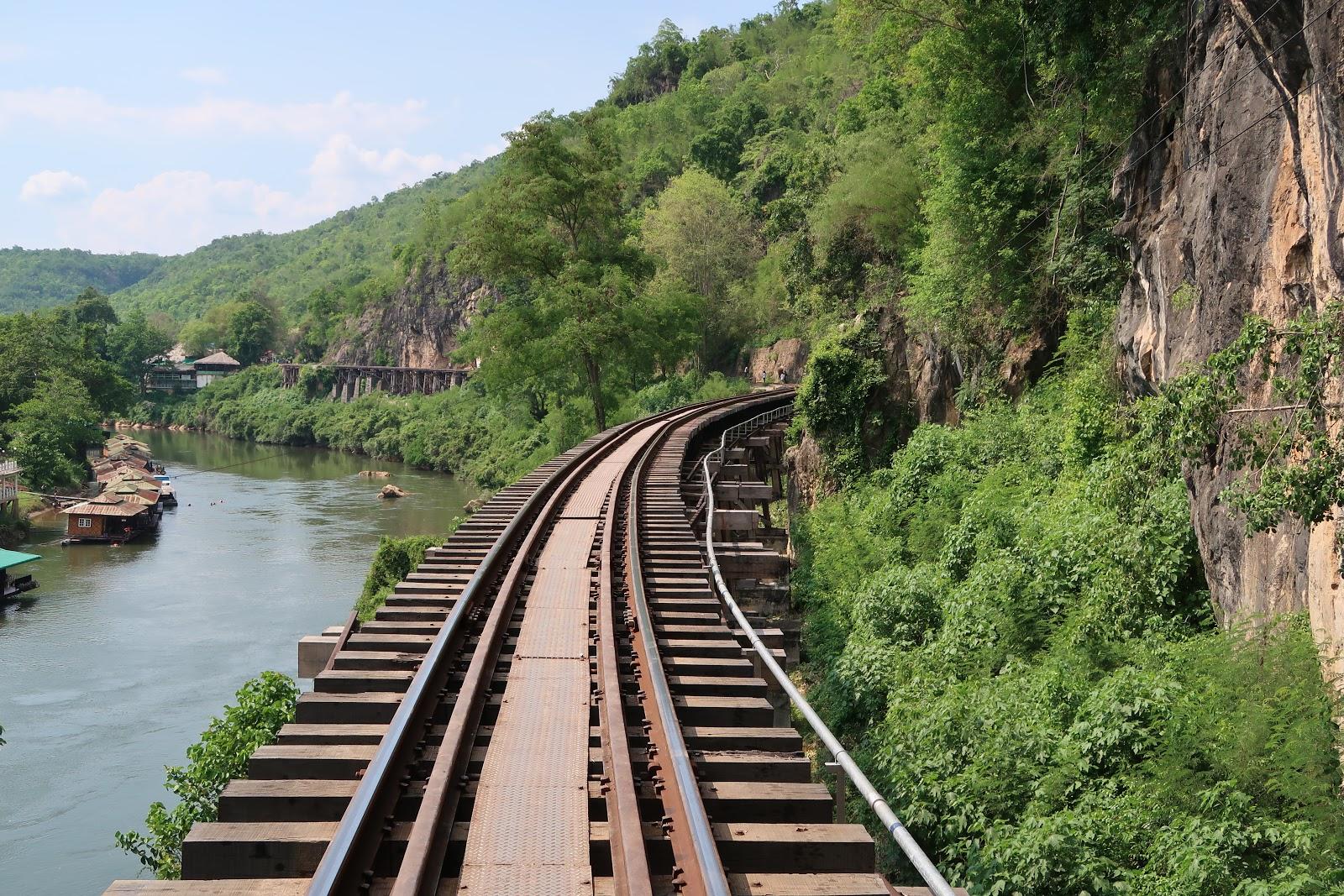 Christianpfc Adventures In Thailand Tham Krasae Railway