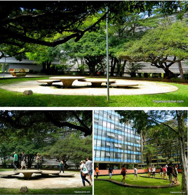 Equipamentos de lazer na Quadra 308 Sul de Brasília