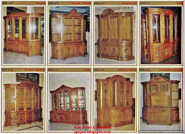 Menjual Perabot Kayu Jati Asli