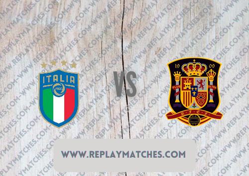 Italy vs Spain -Highlights 06 October 2021