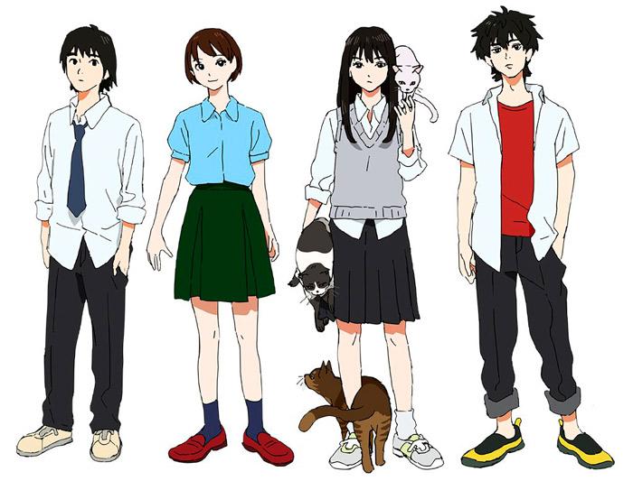 Sonny Boy anime - personajes