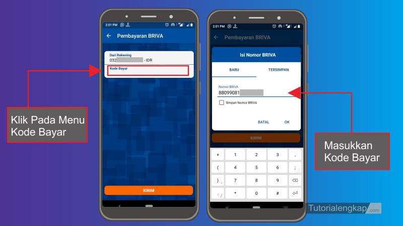 Tutorialengkap 3 Cara isi Ovo Cash Dari Bri Mobile Banking atau ATM BRI