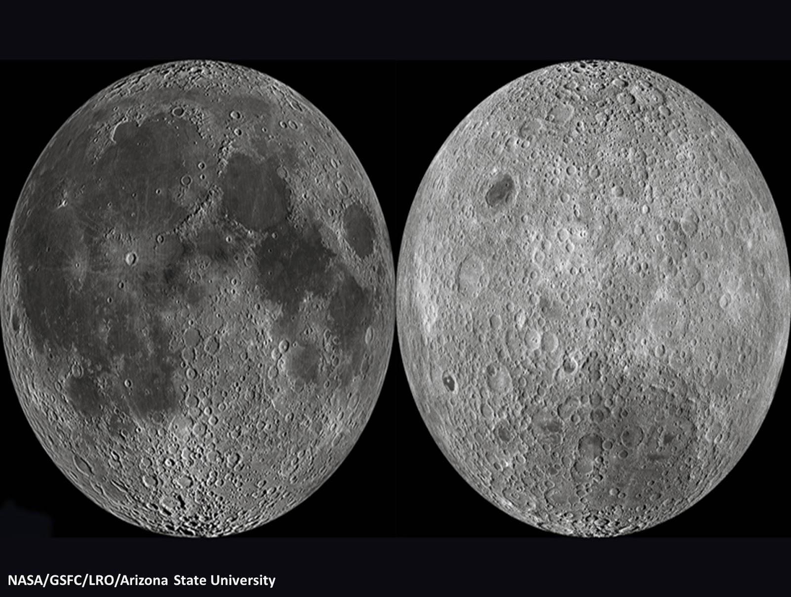 لماذا لا نرى الوجه الآخر للقمر ؟