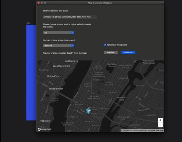 Map generator plugin for sketch