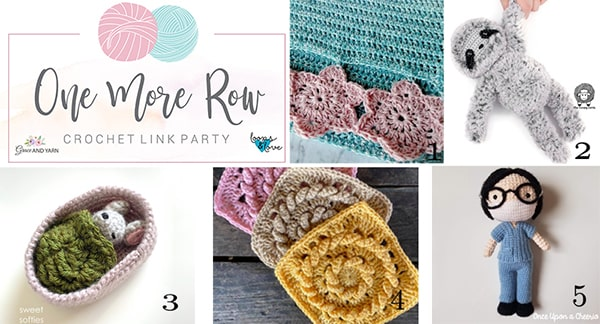 One More Row - Free Crochet Link Party #19