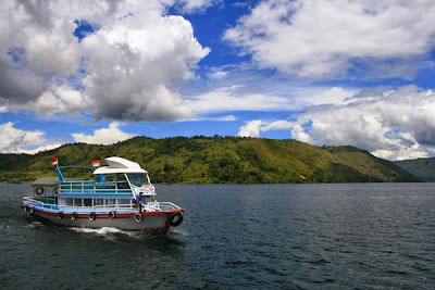 Tourism Object nature of Lake Toba