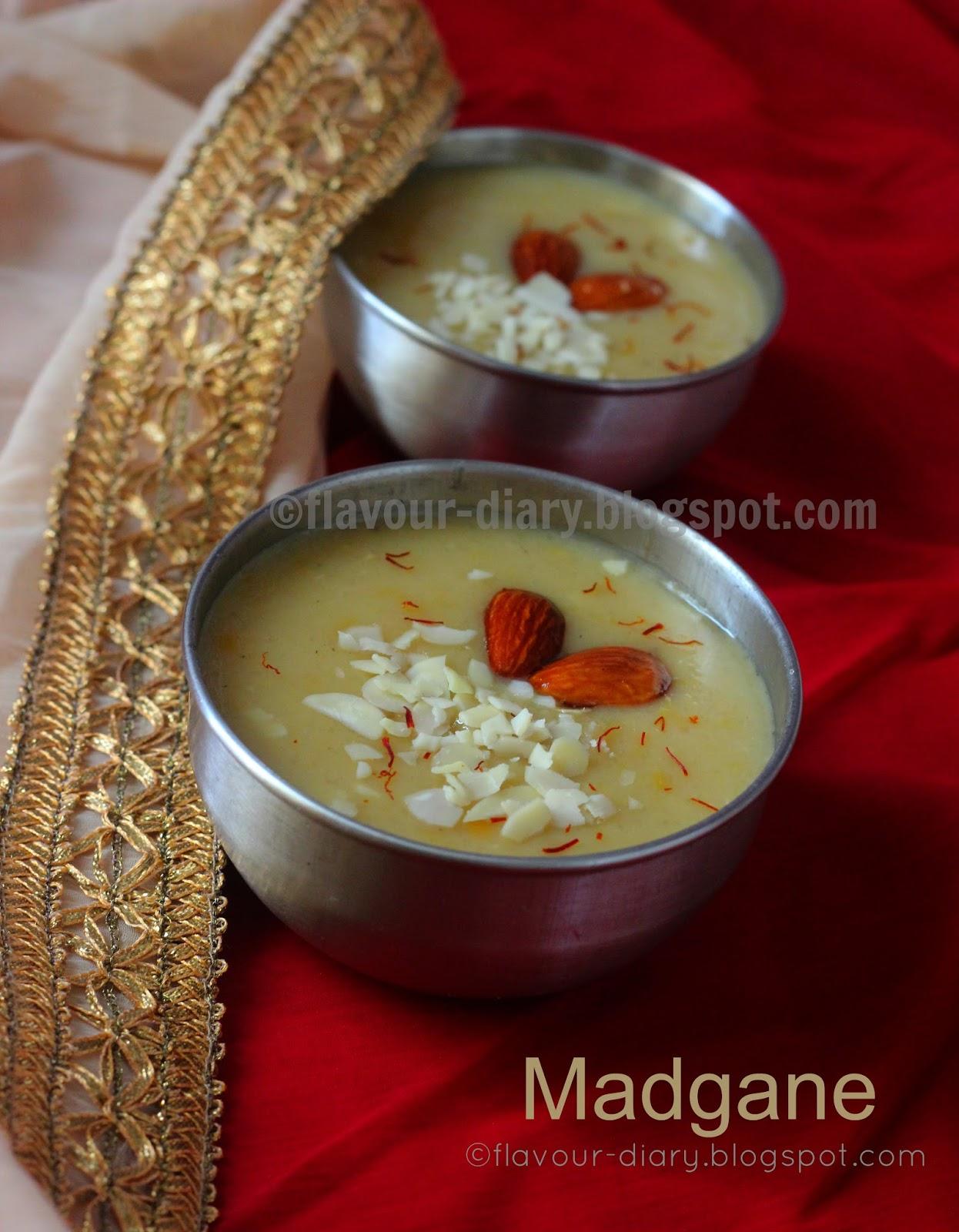 Madgane Konkani Dessert