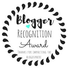 Blogger Recognition Award - Agosto 2018