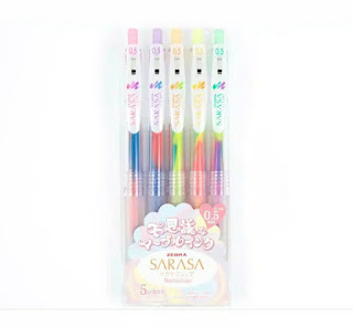 Zebra - Sarasa Clip Marble Color set