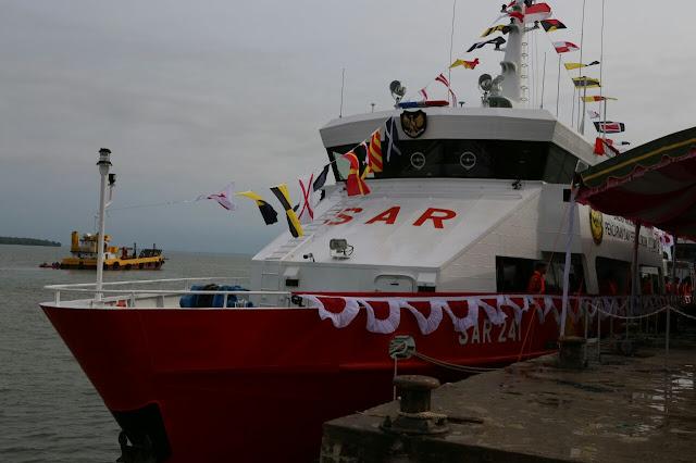 Canggihnya Kapal SAR 241 KN Laksmana Milik SAR Banjarmasin