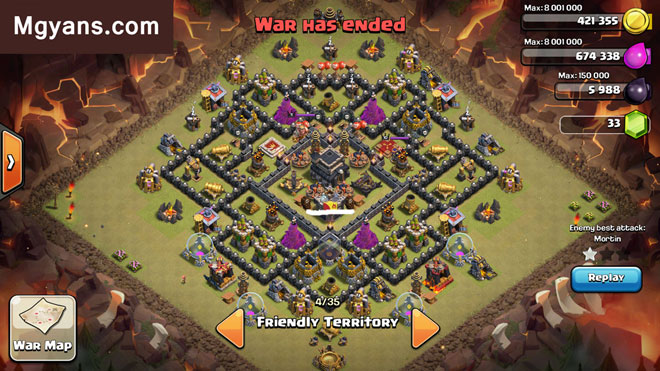 Base War Th 9 Rapat 6