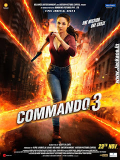 Commando 3 First Look Poster 3