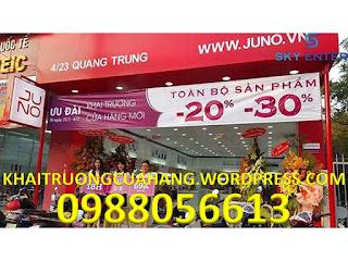 Khai trương cửa hàng JUNO