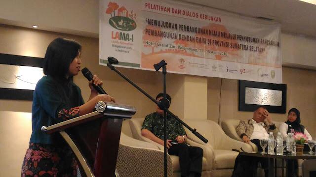 ICRAF Dialog Dengan Pemprov Sumsel Berupaya Turunkan Emisi Gas