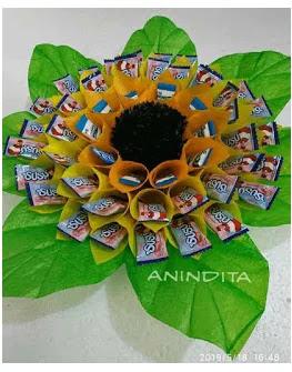 Bunga Piring Dari Plastik Kresek