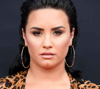 demi lovato square shape face