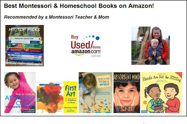 Click here to see the Montessori and Parenting Books I Recommend {Confessions of a Montessori Mom}