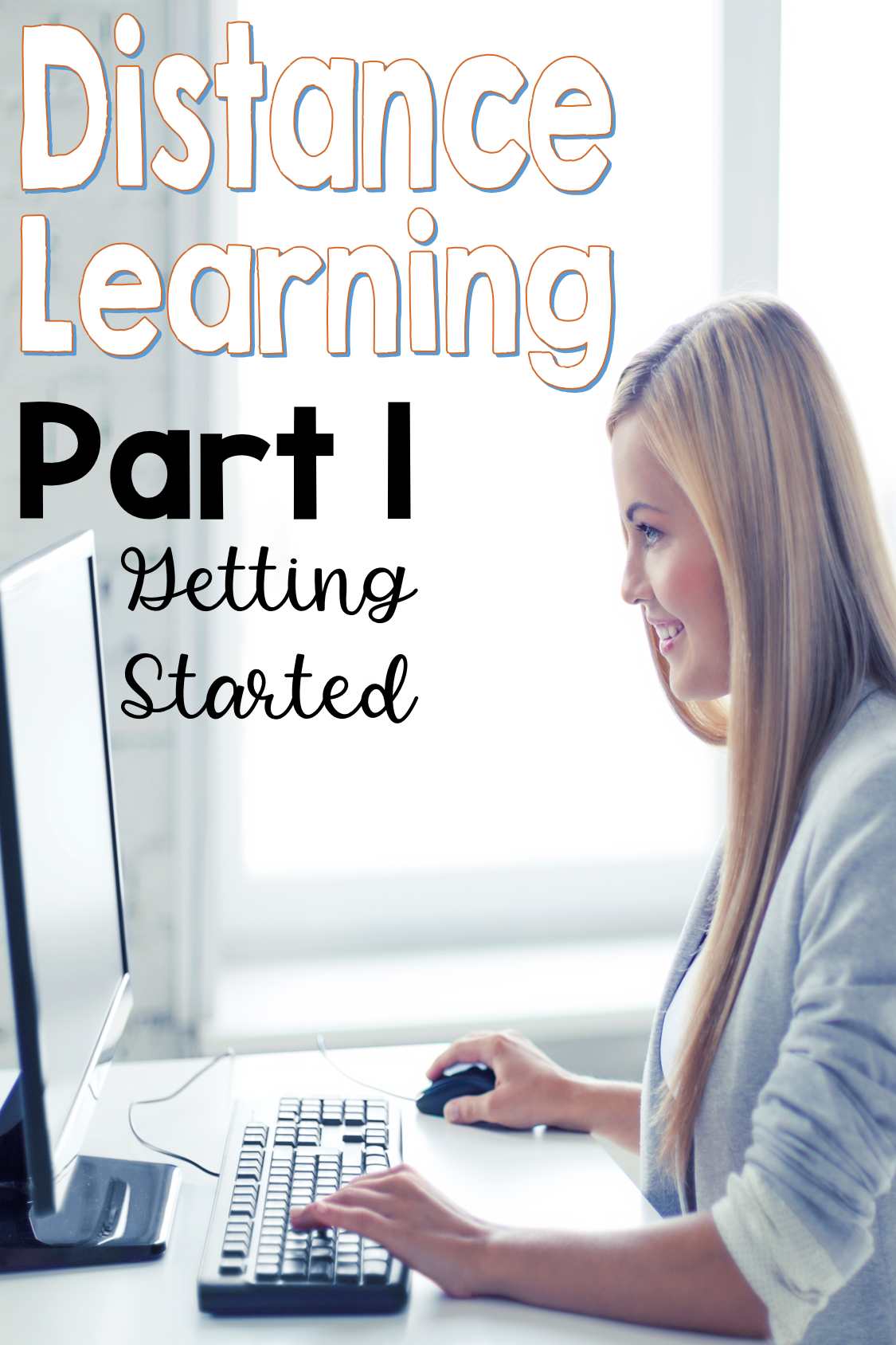 Distance Learning for the primary teacher how to get started.