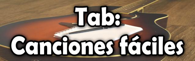 Canciones fáciles para principiantes