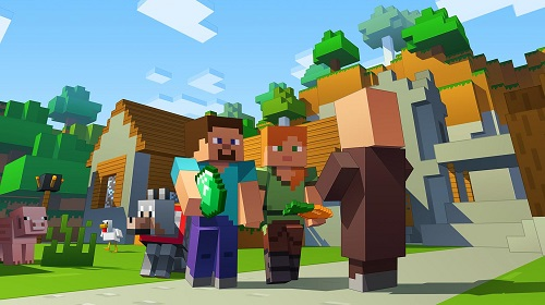Minecraft có sự lôi kéo rất mạnh với người chơi ở nhiều thế hệ khác biệt