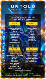 untold 2018 program lineup artisti