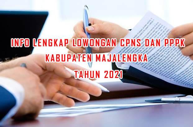 Info Lengkap Lowongan CPNS dan PPPK Tahun 2021 di Kabupaten Majalengka