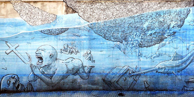 street art by blu in sicily, italy - top 10 august 2013