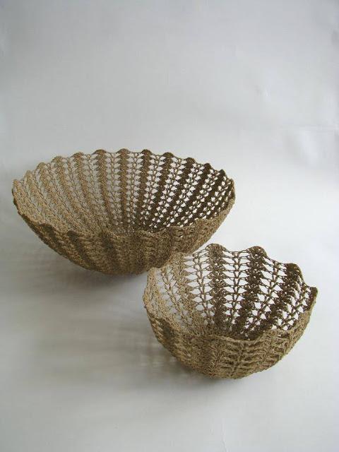 wzory koronkowych koszyków